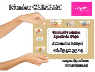 réunion CREAPAM