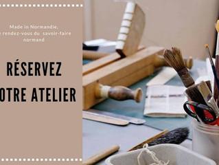 ateliers au made in Normandie de Lion sur mer le 8 octobre prochain