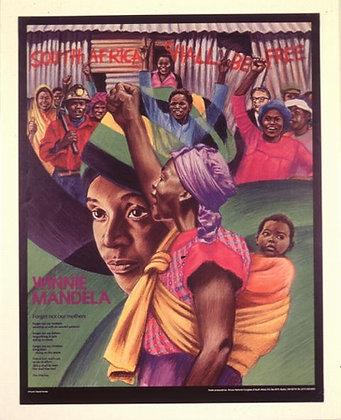 """""""Winnie Mandela"""" by David Fichter"""