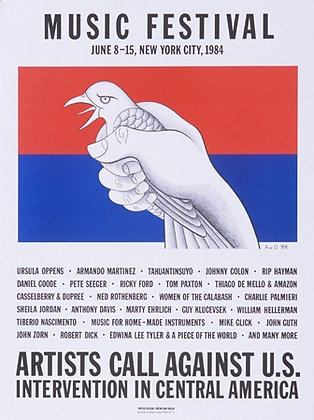 """Artists Call Against U.S. Intervention..."""