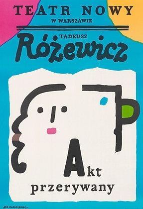 """""""Akt Przerywany"""" by Jan Mlodozeniec"""