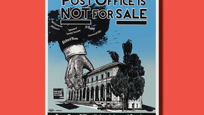 Our Post Office is Not for Sale — Poster of the Week