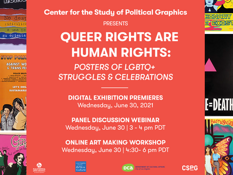 Queer Rights Are Human Rights: Printmaking Workshop
