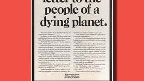 Poster of the Week – An Open Letter to the People of a Dying Planet