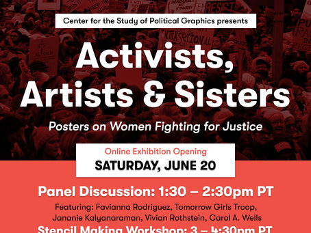 Activists, Artists & Sisters: Panel Discussion and Stencil Workshop