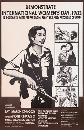 """Demonstrate International Women's Day, 1983"""