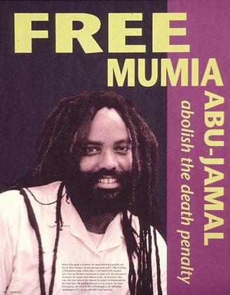 """""""Free Mumia Abu-Jamal"""" by Fireworks Graphics"""