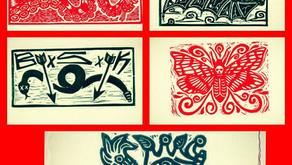 Join Ernesto Vazquez for Poster Making-Linocut Workshop 6/10/17-1 to 4pm! RSVP