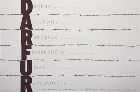 """DARFUR"" by Daniel Young & Mirko Ilić"