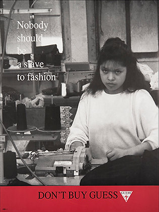 """Nobody Should Be a Slave to Fashion"""