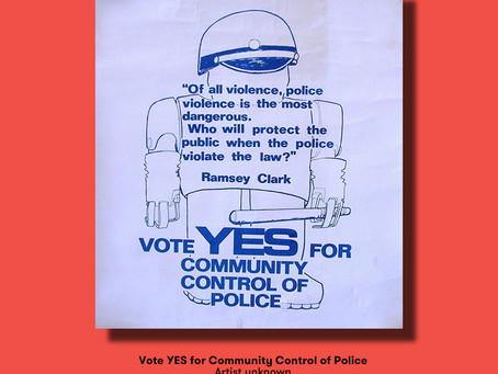 Poster of the Week – Ramsey Clark, Daunte Wright & Community Control of Police