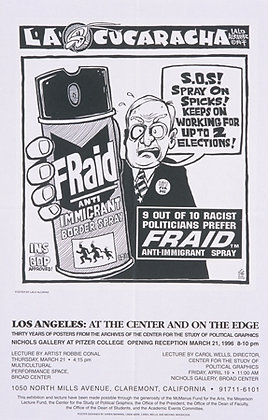 """FRAID Anti-Immigrant Border Spray"""