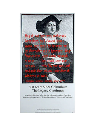 """500 Years Since Columbus"""