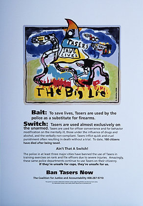 """""""The Big Lie"""" by Doug Minkler"""