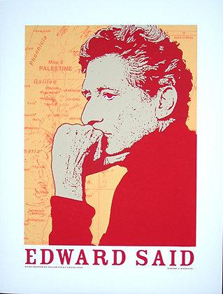 """""""Edward Said"""" by Jesus Barraza"""