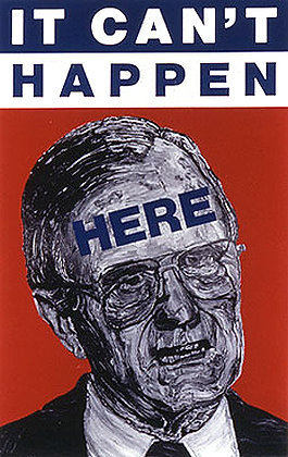 """""""It Can't Happen Here"""" by Robbie Conal"""