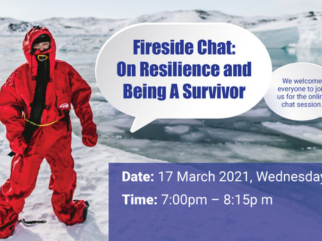 Fireside Chat: On Resilience and Being A Survivor