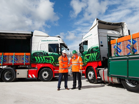 Eddie Stobart to step away from Aggregate Industries. Wincanton takes over.