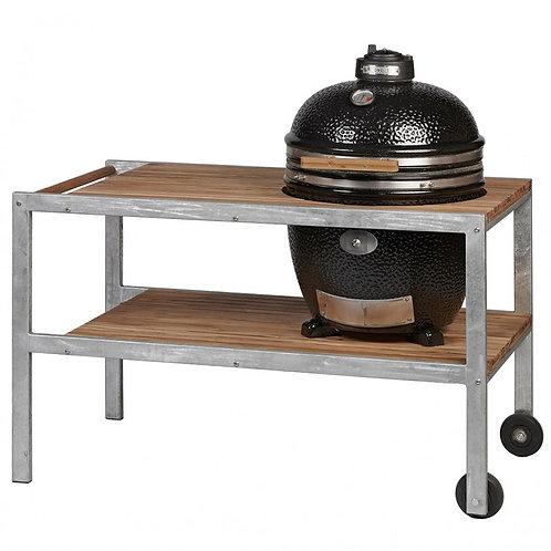 Monolith Classic Barbecue met tafel - Zwart