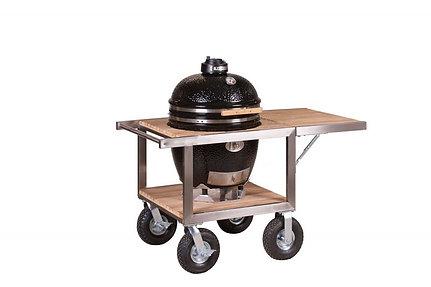 Monolith Classic Barbecue Buggy + zijtafel - Zwart