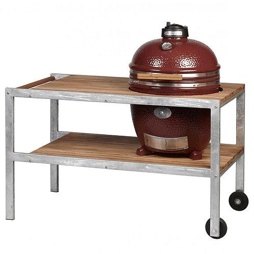 Monolith Classic Barbecue met tafel - Rood