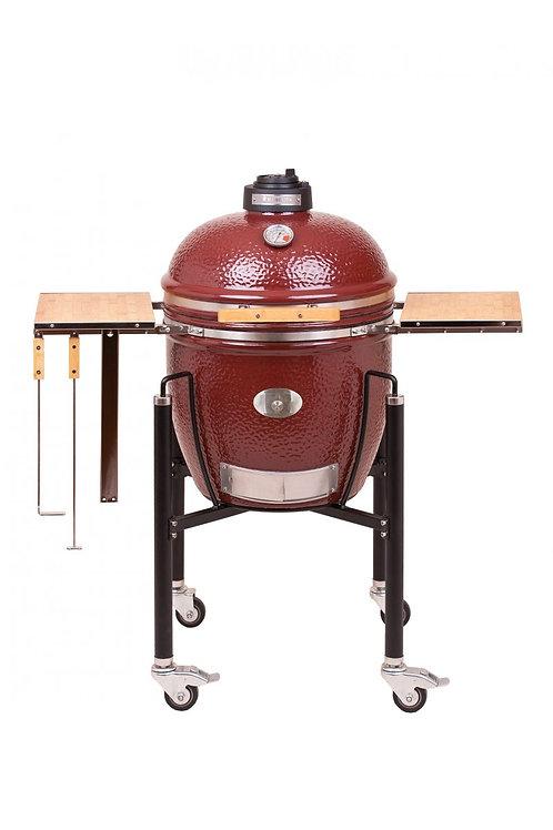 Monolith Classic Barbecue met onderstel en zijtafels  - Rood