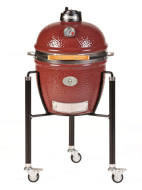 Monolith Junior Barbecue met onderstel - Rood