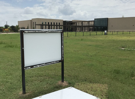 FBISD Creates Makeshift Memorial Site next to the School they Built on Sacred Ground.