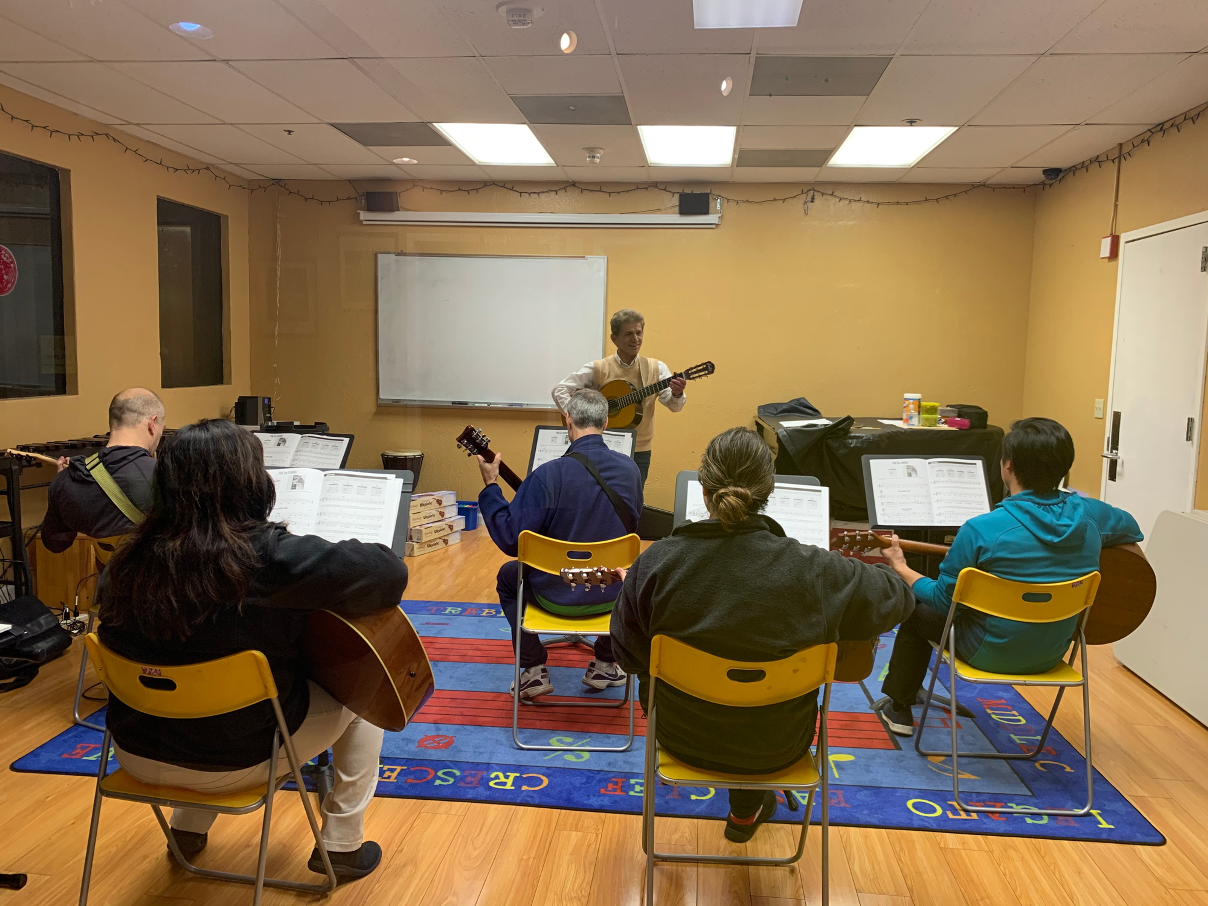 Group Guitar Class for Adult (Wed 7pm)