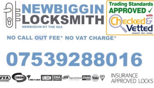 Newbiggin Locksmith Call 07539288016