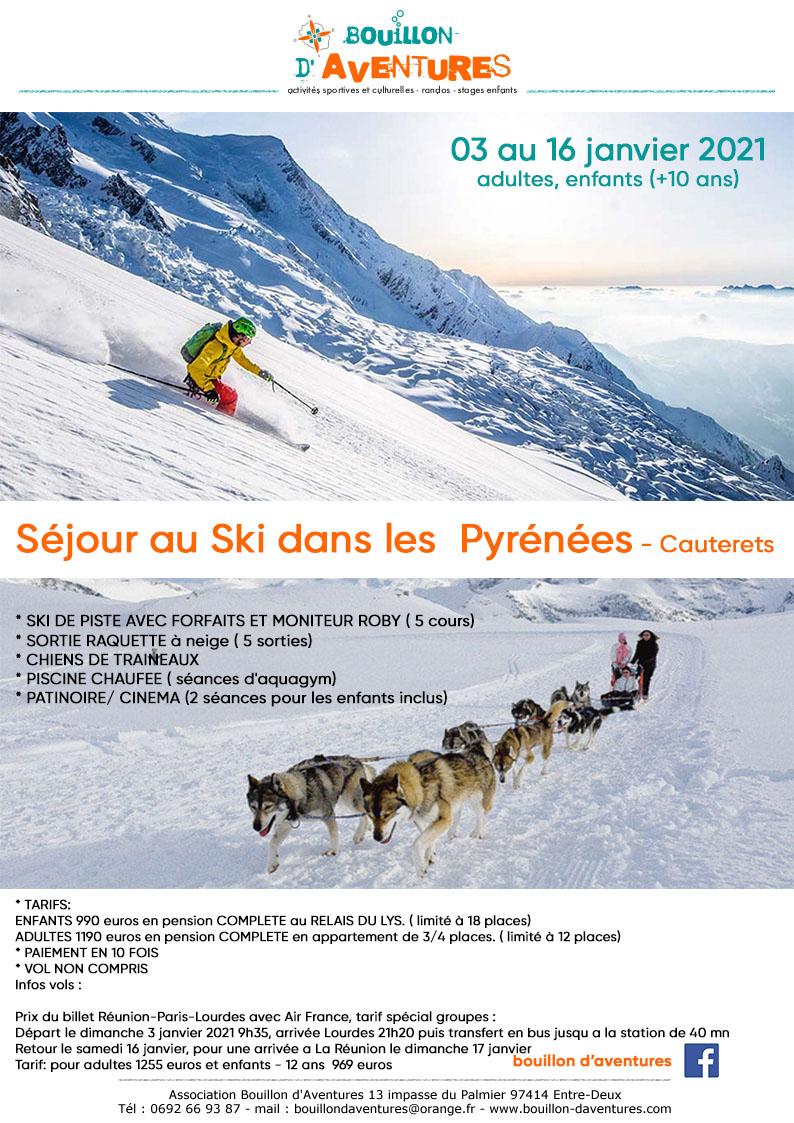 bouillon aventures ski janvier 03 au 16