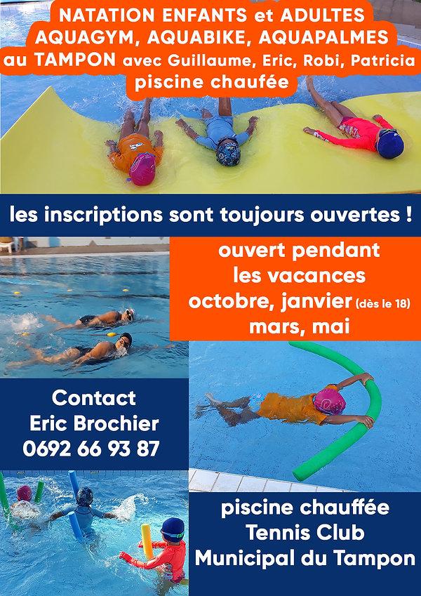 Bouillon Aventures Natation et aquagym T