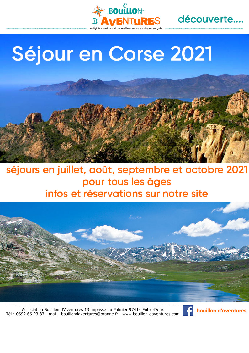 bouillon aventures voyage corse 2021