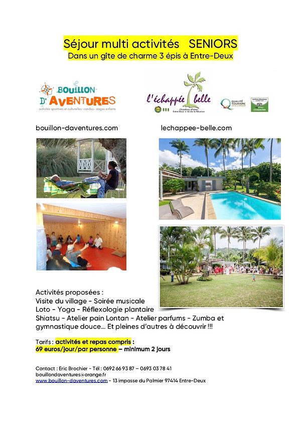 Bouillon Aventures multi activites senio