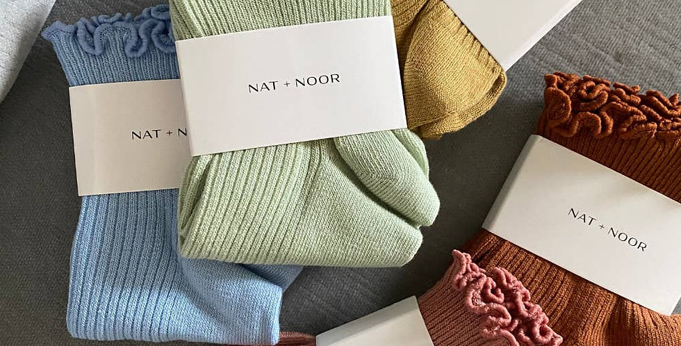 Nat & Noor Ruffle Socks