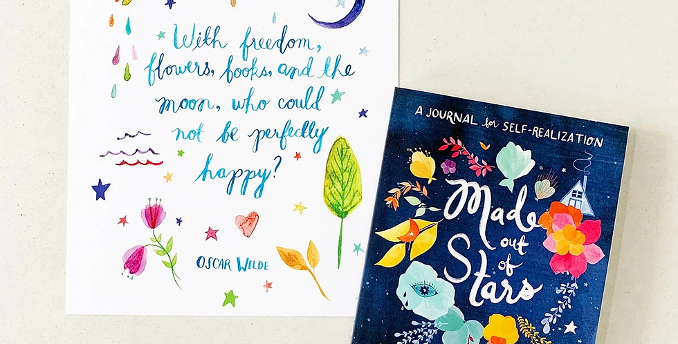 Made Out Of Stars : A Journal of Self Discovery