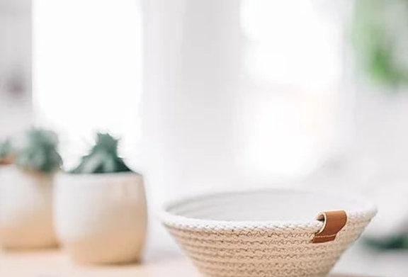 Woven Handmade Mini Basket