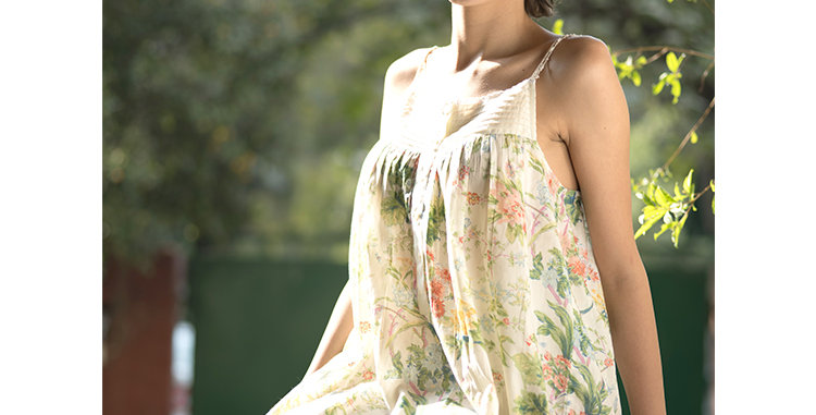 Olivia Nightdress French Country