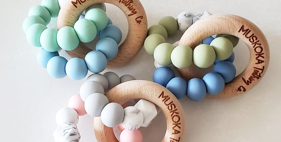 Muskoka Teething Co. Teething Rings