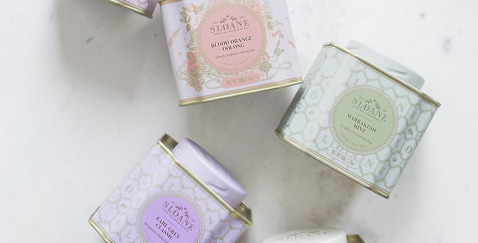 Sloane Loose Leaf Tea Caddies