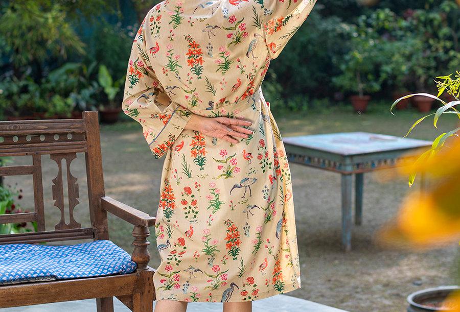 Natural Bloom Kimono