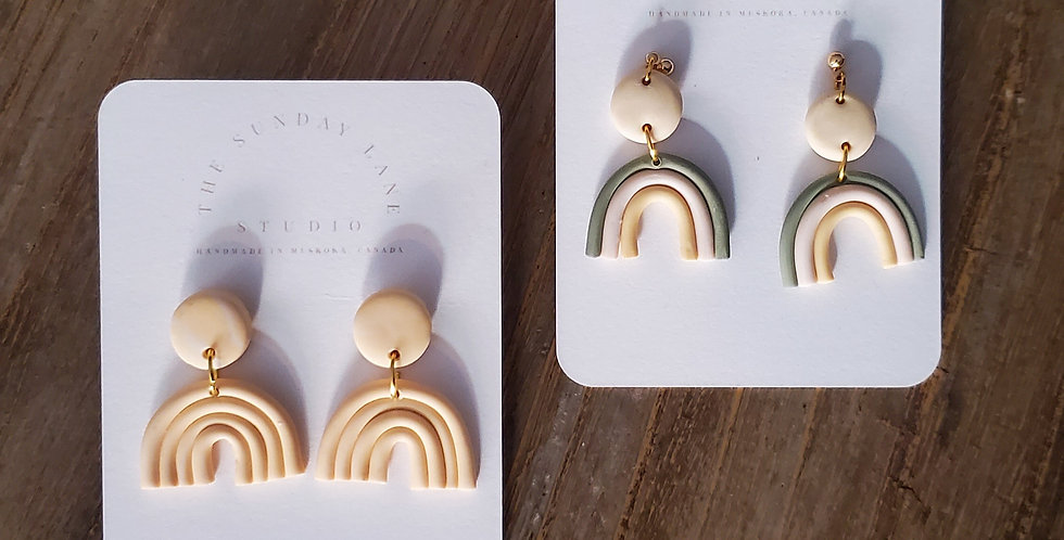 Sunday Lane Studio Clay Earrings