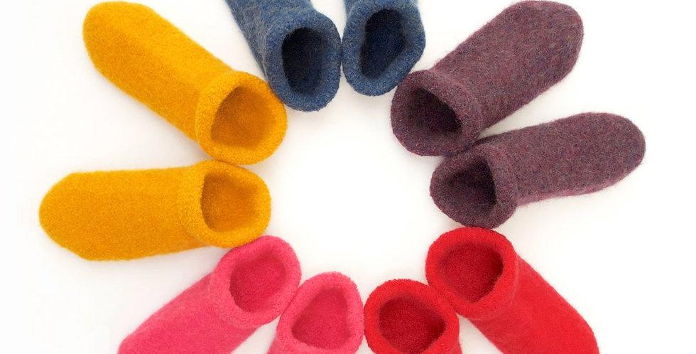 The Love of Colour Slipper Socks