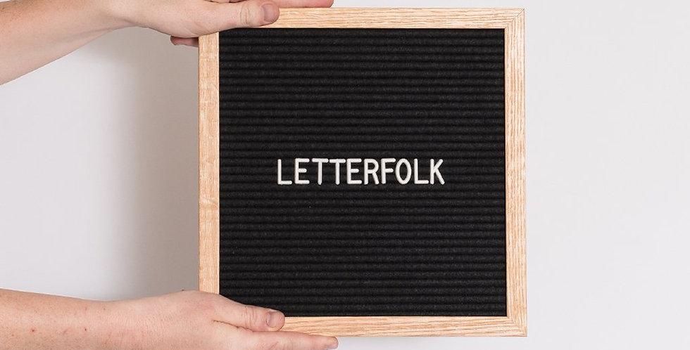 Letterfolk Letterboard