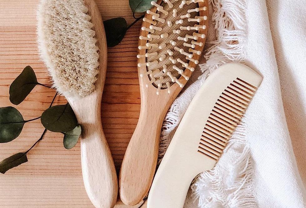 Baby Hairbrush Gift Set