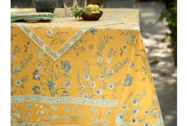 Indian Cotton Printed Tablecloth