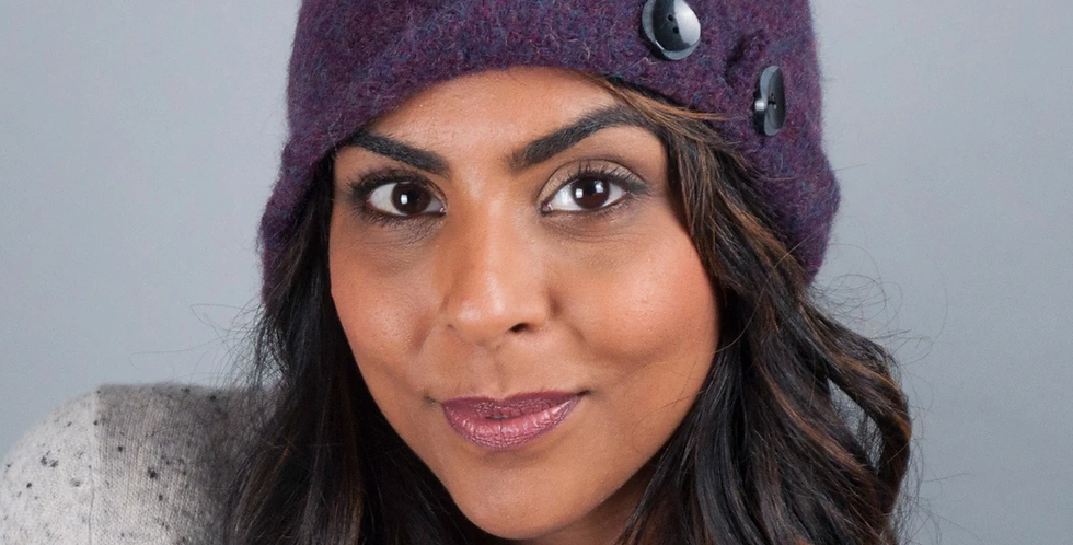 The Love of Colour Wool Hat & Scarves