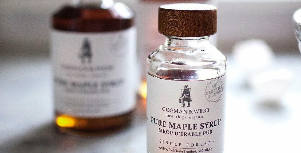 Organic Maple Syrup by Cosman & Webb