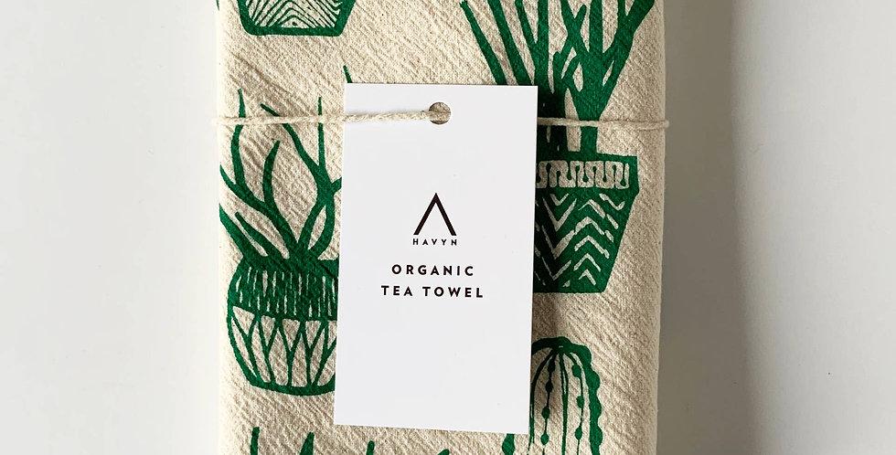 Paula Lukey Hand Printed Tea Towels