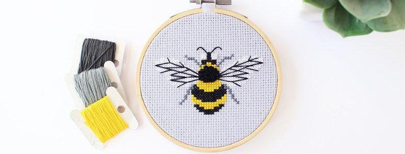 "4"" Cross Stitch Kit"
